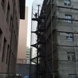Çelik Konstrüksiyon Yangın Merdivenleri