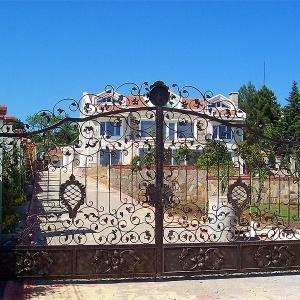 Ferforje Bahçe Giriş Kapıları